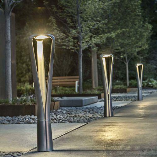 Urban bollard light / contemporary / metal / LED FGP by Francisco Gomez Paz landscapeforms