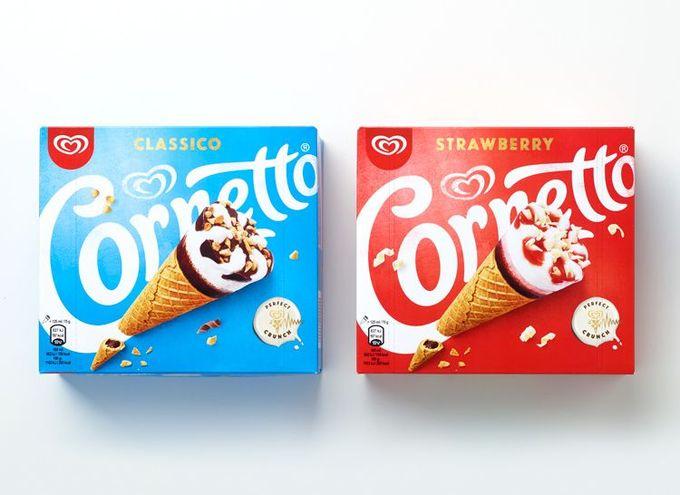 Cornetto apresenta novo logotipo e novas embalagens | Designers Brasileiros
