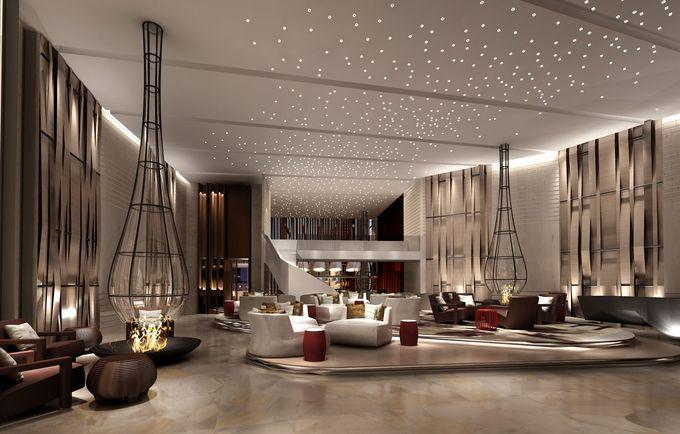 在酒店大堂照明室内设计项目?在luxxu.net上找到最好的照明灵感