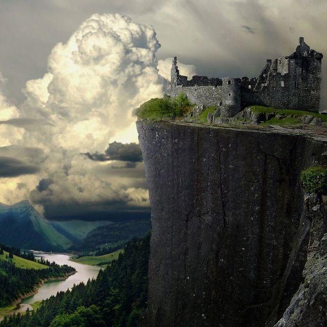 悬崖城堡废墟