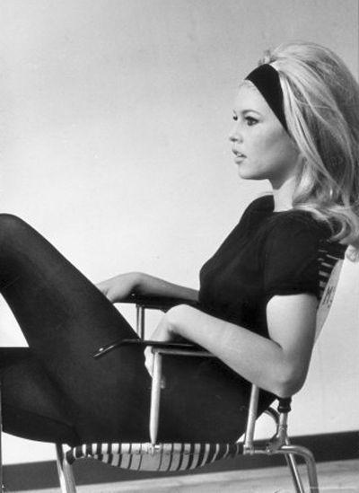 Brigitte Bardot. Photo by Loomis Dean.