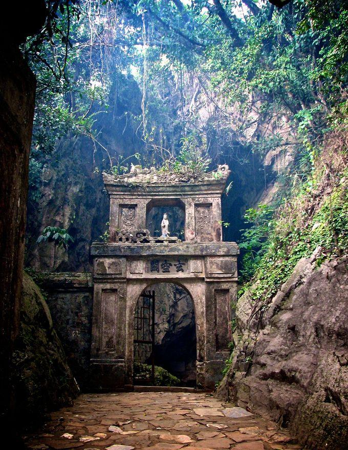 越南令人难以置信的大理石山脉