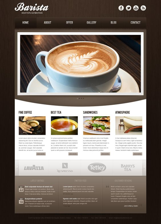Website Inspiration Make Better Websites - Inspiration #websitedesign by Logo People Australia. ( I like the gradient in the background and the contrast images to text)