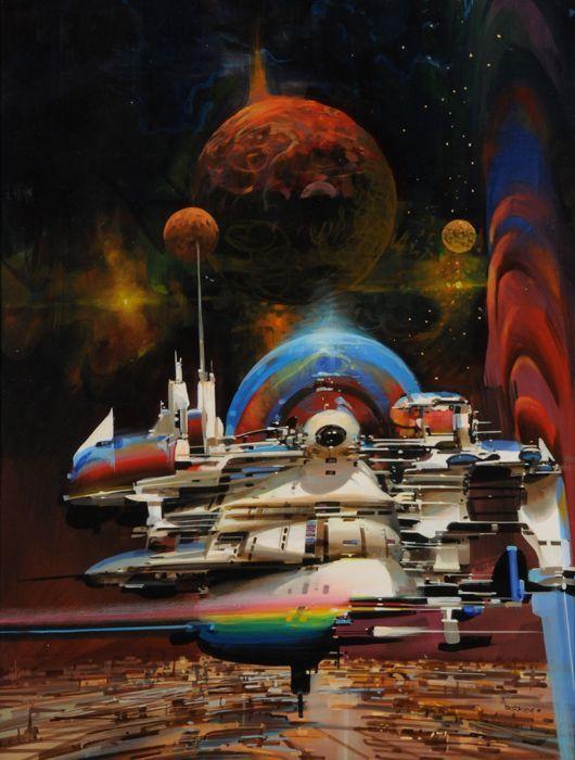 Space Paintings – John Berkey