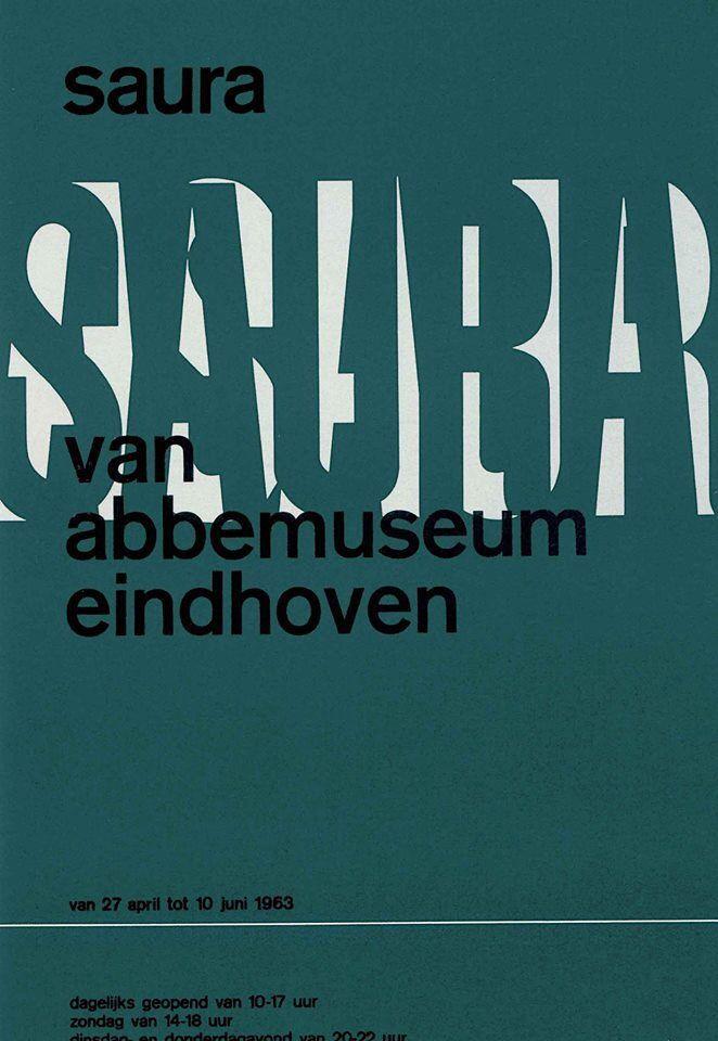 by Wim Crouwel – 1963