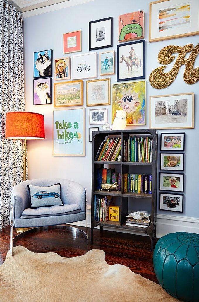 有趣的画廊墙| Amie Corley室内设计