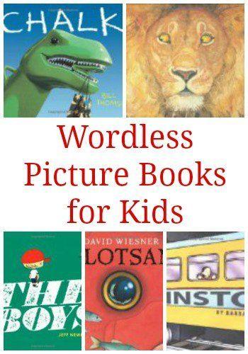 儿童无语图画书:一本精彩的书,一本没有文字的书,可以让孩子们讲故事。