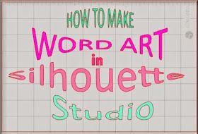 剪影工作室字艺术教程。
