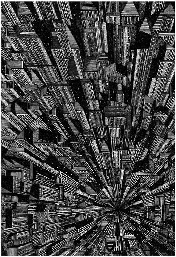 建筑艺术:Tumblr的一些最佳建筑图纸