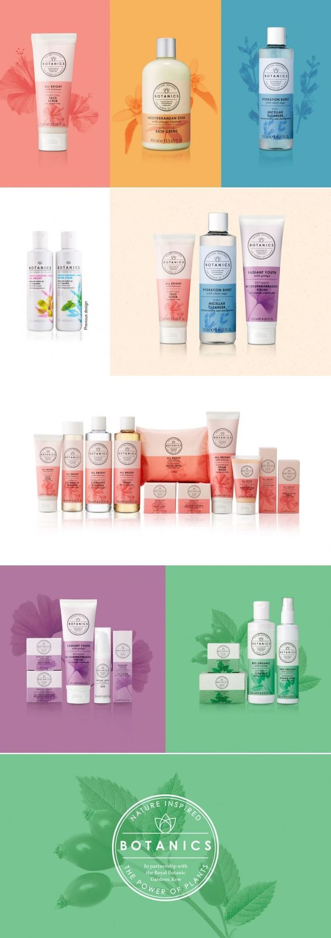 Botanics Skincare Will Help You Indulge With The Power of Plants — The Dieline | Packaging & Branding Design & Innovation News