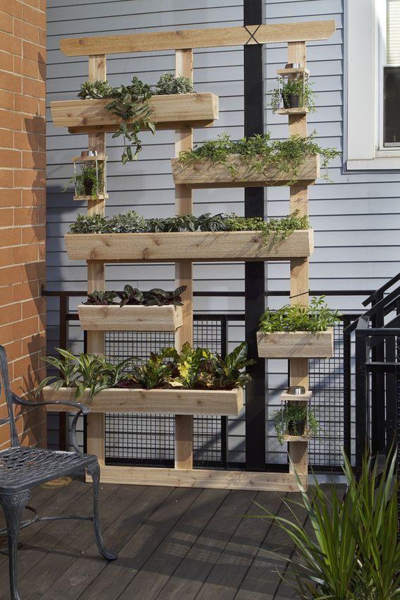 如何:制作DIY户外生活植物墙