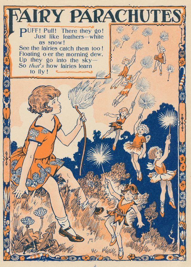 fairy parachutes by janwillemsen | The Flapper Girl | Bloglovin'