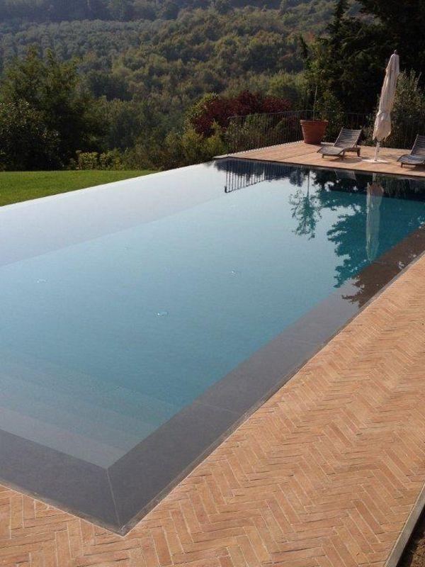无限游泳#pool与瀑布 -  INDALO PISCINE