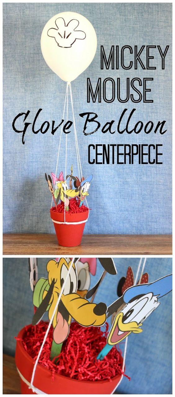 米老鼠俱乐部手套气球中心。这是一个非常可爱的核心,复制了手套气球内的所有米老鼠俱乐部朋友。