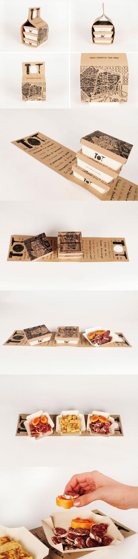 TOT Take-Away (Student Work)  Designed by Gloria Kelly, student of Elisava, Barcelona/ Spain.