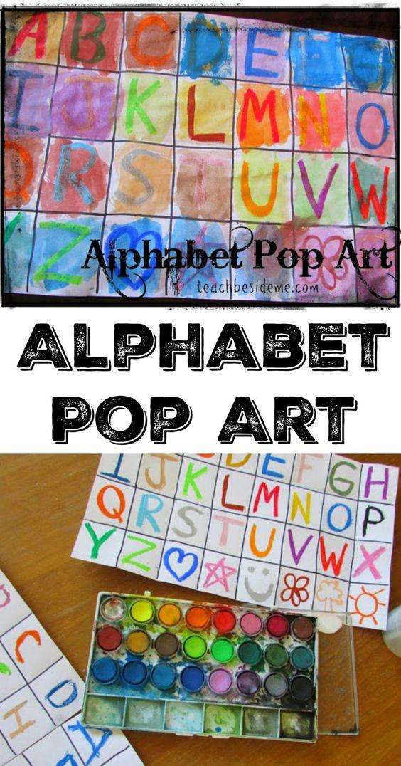 这篇文章可能包含会员链接。字母加艺术等于一个很棒的教育艺术项目!这是一个有趣的字母流行艺术项目,来自我们一直使用的家庭艺术工作室。我的孩子和我都很乐意制作这个项目。制作自己的字母流行艺术:这是一个有趣的混合媒体艺术...