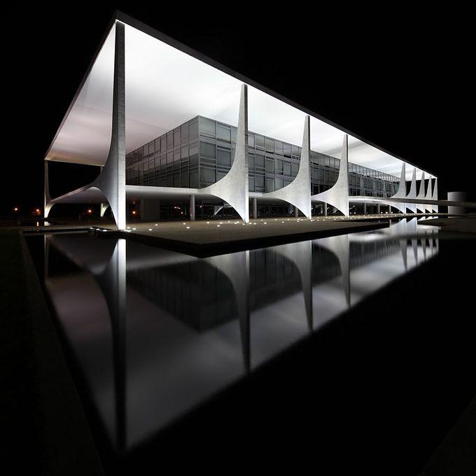 thisnewurbanity: Palácio do Planalto   Oscar Niemeyer
