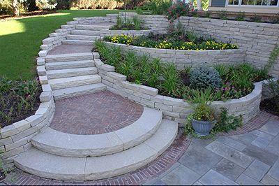 14美丽的花园Diy挡墙想法 - 凯利的Diy博客