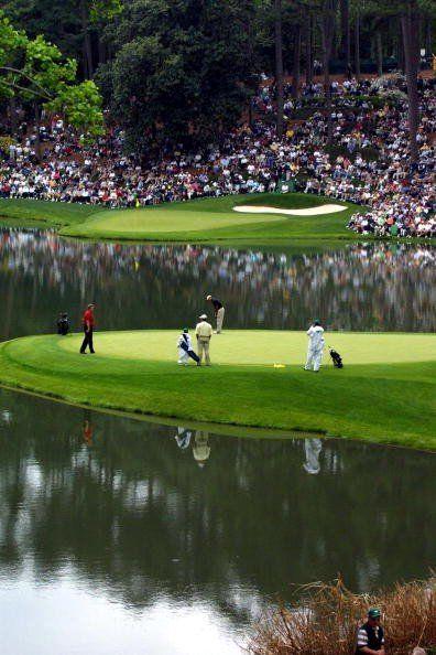 奥古斯塔国家高尔夫俱乐部的Par-3球场是九个精致的小高尔夫球洞的集合。