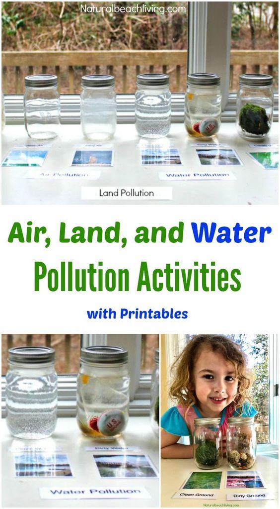 教导孩子们关于污染,空气,土地和水污染活动,印刷品,地球日活动和地球日想法,蒙台梭利,雷焦,完美!教孩子们关于污染,儿童污染活动,儿童污染项目,儿童地球日活动,幼儿园和幼儿园地球日主题,污染活动,教育孩子们关于污染的活动,
