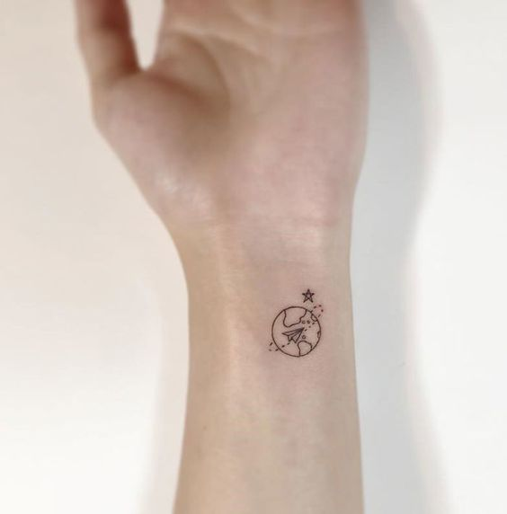 有些人喜欢它很大,有些喜欢它很小。像真的很小。当然,我正在谈论纹身。