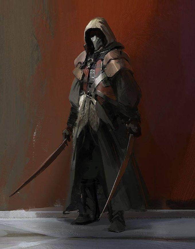 Assassin's Creed Art by John J. Park / CA, United, States
