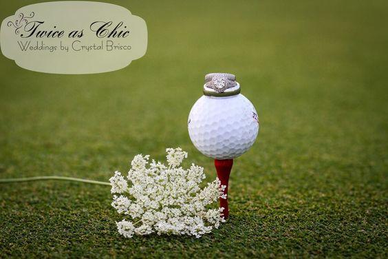 结婚戒指|高尔夫球场婚礼www.twiceaschicweddings.com