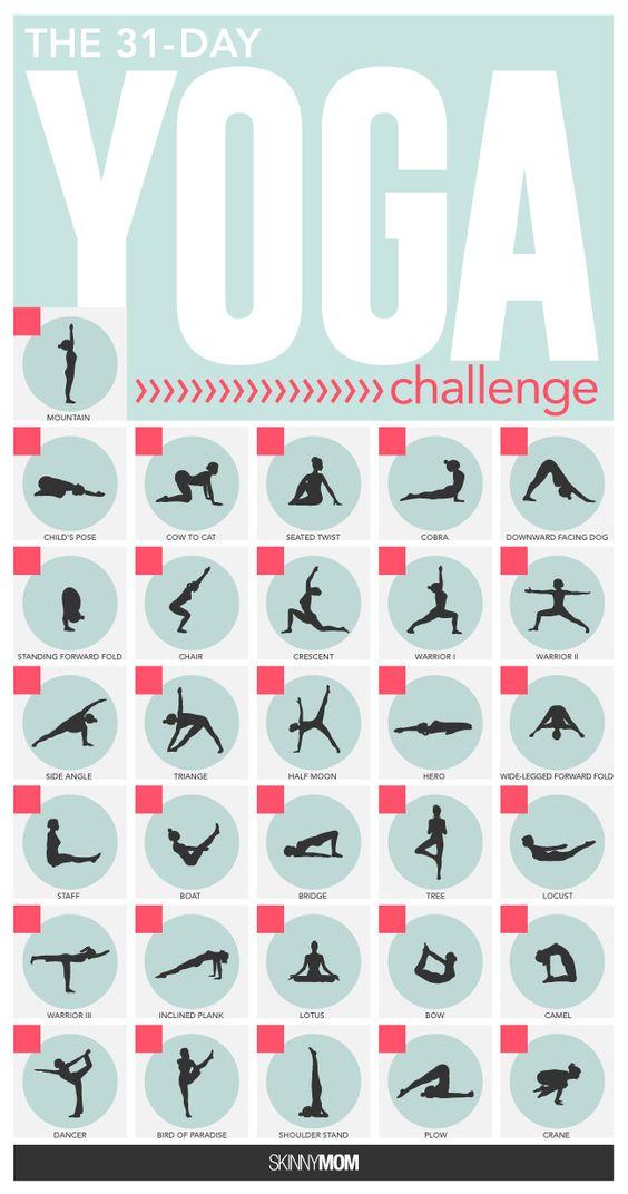 31天瑜伽挑战赛