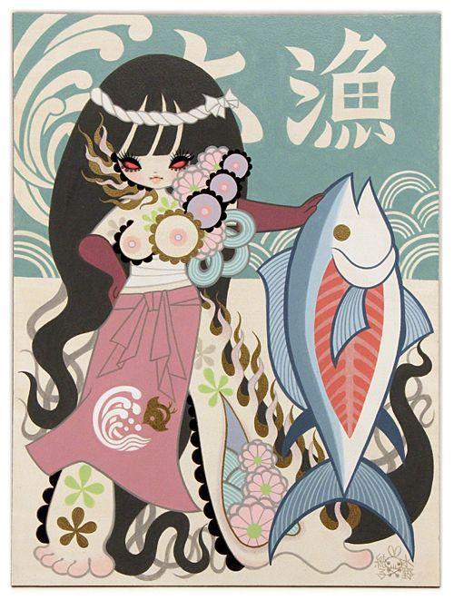 Onna Bune (Women's Fishing Boat) 3 by Junko Mizuno - Gallery Nucleus