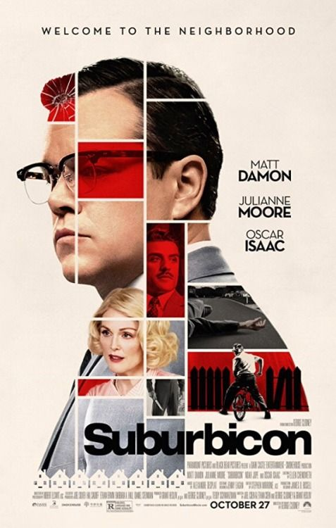 Movie Posters - Movie Posters : Suburbicon (2017) dir. George Clooney  Movie Posters  :    Suburbicon (2017) dir. George Clooney