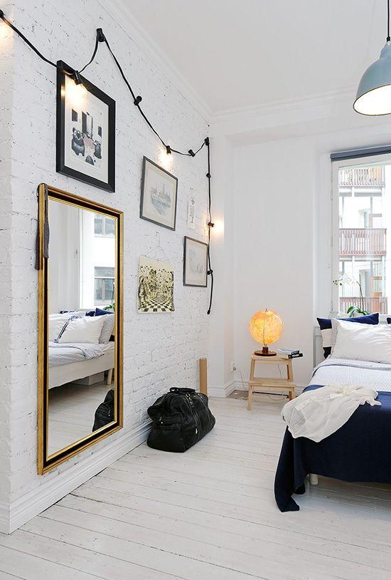 极简主义,斯堪的纳维亚风格的卧室|我的Paradissi