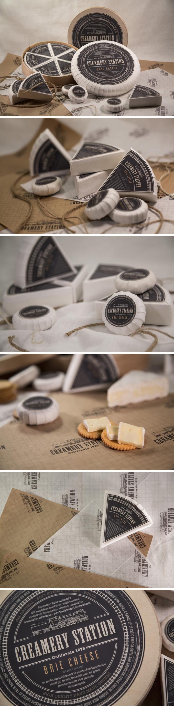 布里奶酪包装设计PD