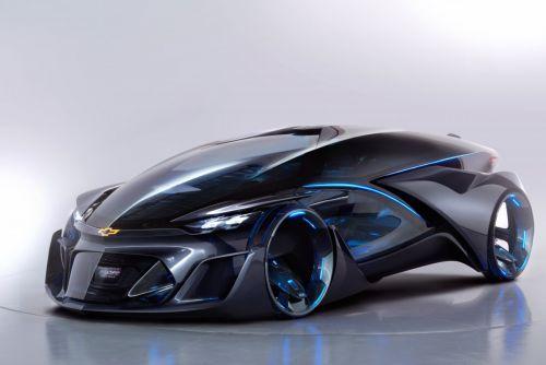 Futuristic Car - Chevrolet FNR, Driverless Car, Autonomous EV, Concept Car, Electric Vehicle, Self-Driving Car, 2015 Shanghai Motor Show