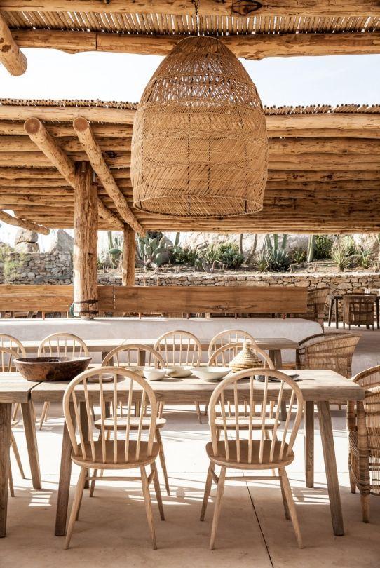 新的海滩俱乐部和餐厅在Mykonos  -  Vogue Living尝试