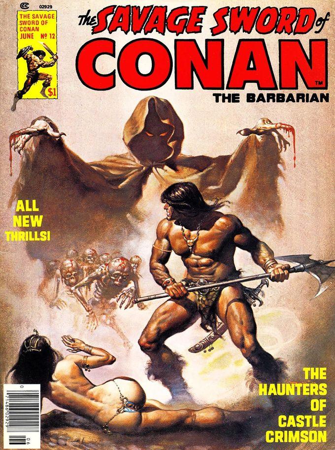 Savage Sword of Conan - Boris Vallejo
