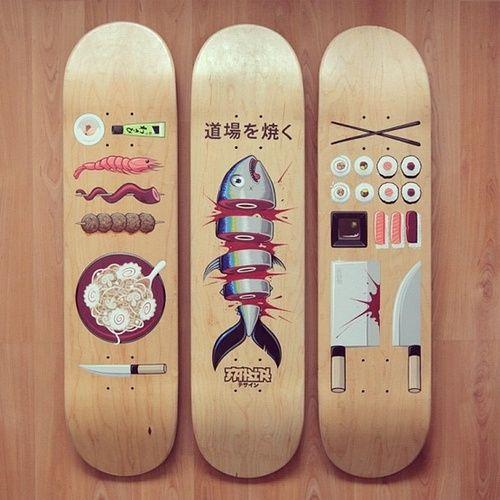 -  thedailyboard:饿了?这是寿司滑冰的时候了......
