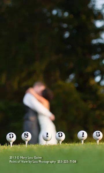 高尔夫主题婚礼