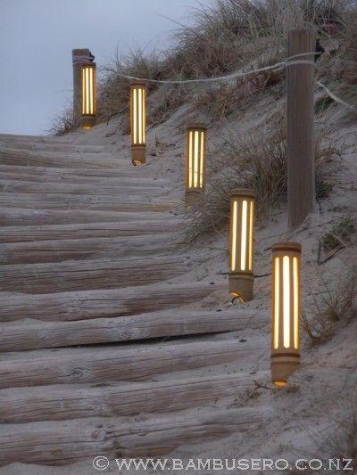 竹子短线路径户外照明更多