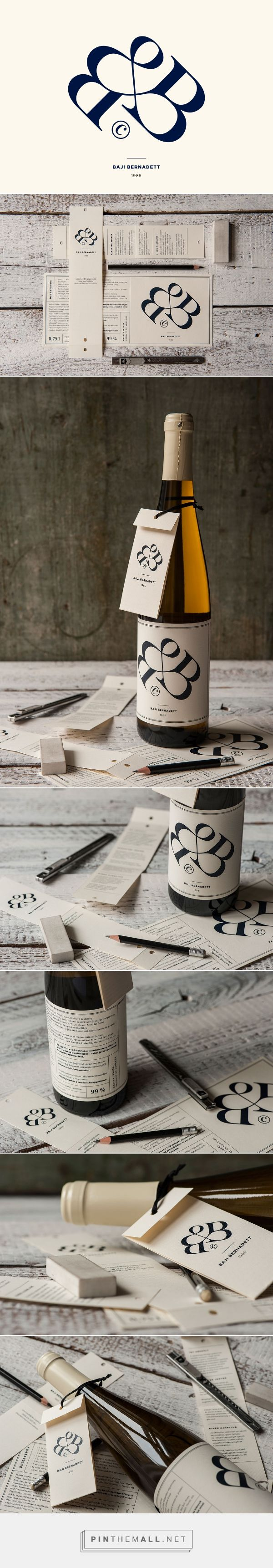 Thought this lovely Bernadett Baji's wine label pinned by Luca made by Kiss Miklos was worth a closer look curated by Packaging Diva PD