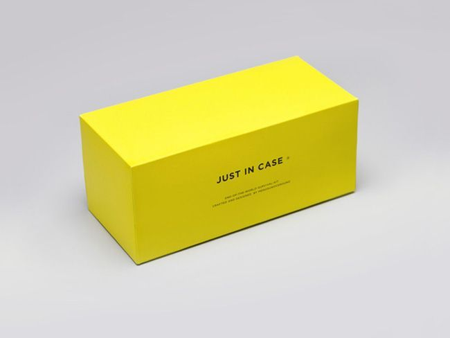 JUST IN CASE | Packaging of the World: Creative Package Design Archive and Gallery