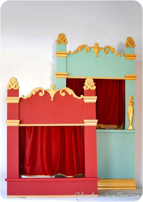 在木偶剧场上演戏剧对于儿童和成人来说是一项伟大的家庭活动!阅读我们的教程,了解如何用木头制作复古风格的木偶戏。