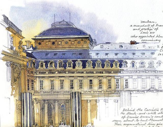 Fabrice Moireau. stunning watercolours