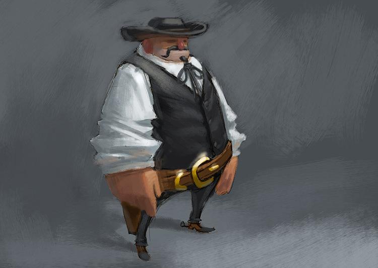 cowboy by ~kinyz on deviantART