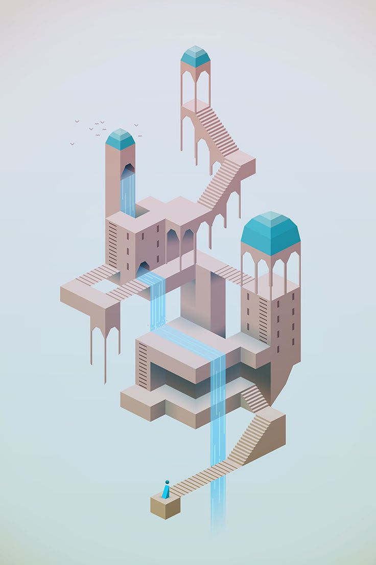 Monument Valley #mobile #UI #game