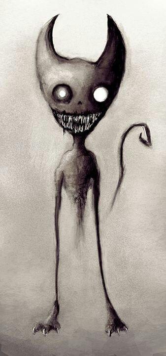 恐怖宠物墓地纹身: