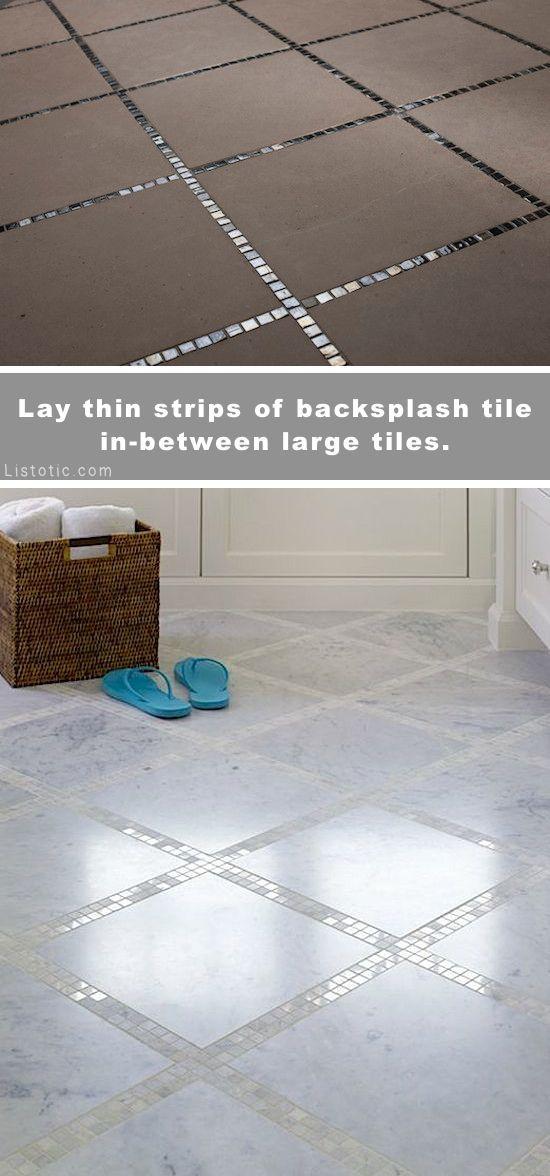 厨房背部飞溅,地板,主浴室,小浴室,天井,浴缸周围或房子的任何房间的美丽和创意瓷砖想法!家居装饰理念