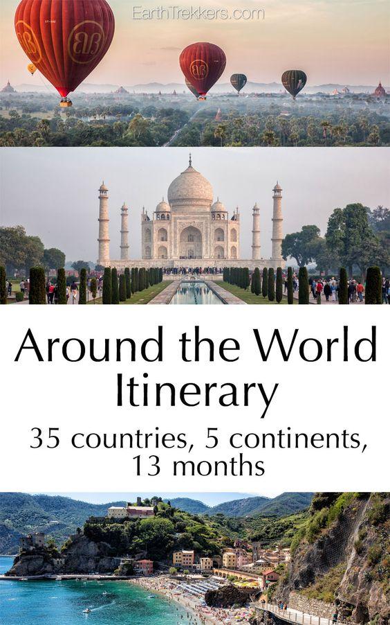 我们在世界各地的行程:13个月,35个国家,5大洲,一次惊人的冒险。关于我们与孩子们在世界各地旅行的细节。