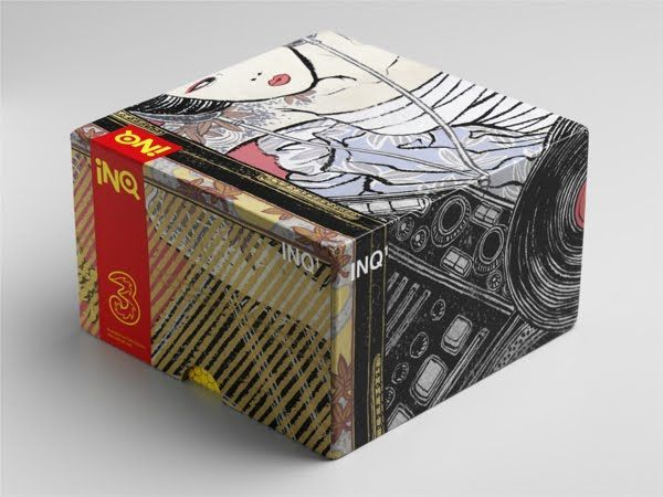 INQ¹ on Packaging of the World - Creative Package Design Gallery