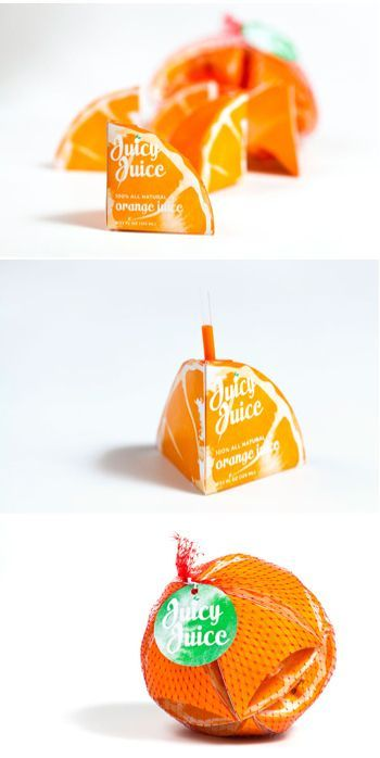 Now this is some creative packaging!  Adorable juice boxes that fit together. | 31 Mind-Blowing Examples of Brilliant Packaging Design