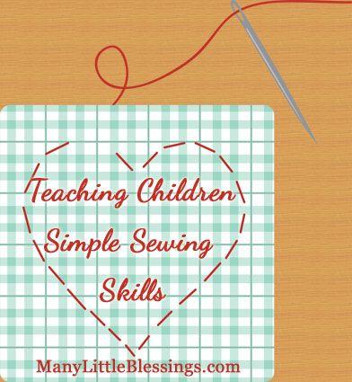 花时间教孩子们一些简单的缝纫技巧可以为他们节省一辈子的缺少按钮和撕裂的接缝。以下是一些基本技能。